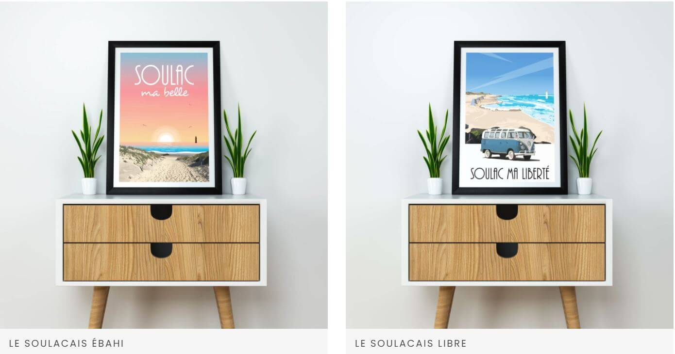Posters Soulac sur Mer